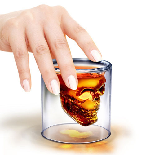 Стакан для виски череп Bordo skull glass