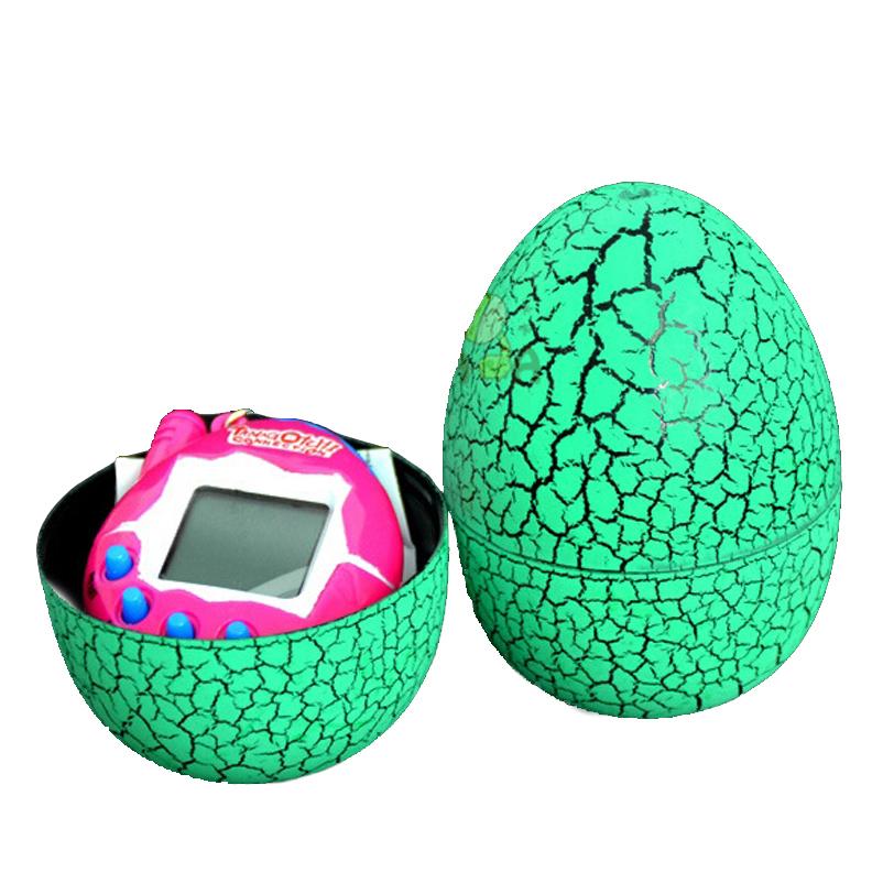 Игрушка электронный питомец UFT Тамагочи в Яйце Динозавра Eggshell Game Green