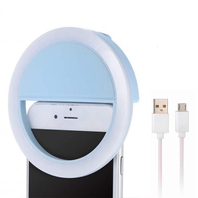 Кольцо для селфи Bordo Selfie ring MP01 Blue