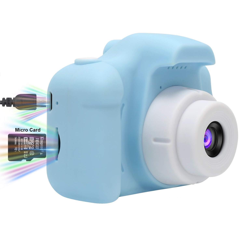 Детский цифровой фотоаппарат Model X Blue