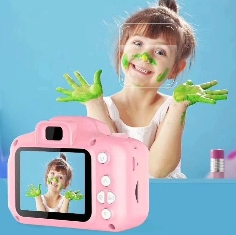 Детский цифровой фотоаппарат Model X Pink