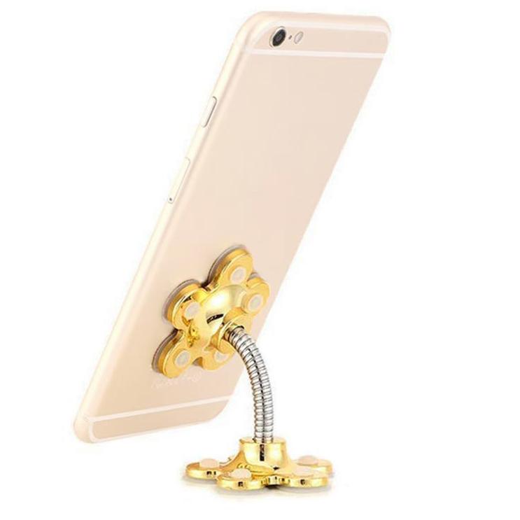 Универсальный держатель для телефона Bordo с присосками HOLDER IP22 Gold