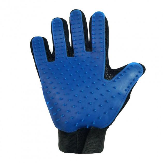 Перчатка для вычесывания шерсти домашних животных Bordo Hair Removal Gloves