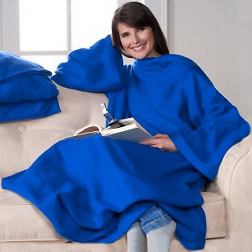 Плед с рукавами Bordo Синий 140x180 см P1