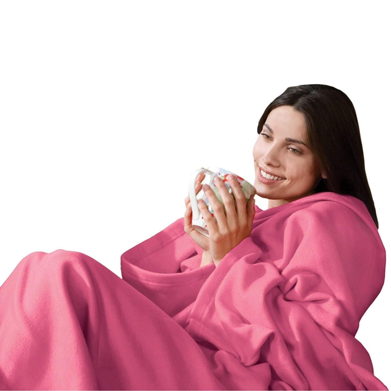 Плед с рукавами Bordo Розовый 140x180 см P1