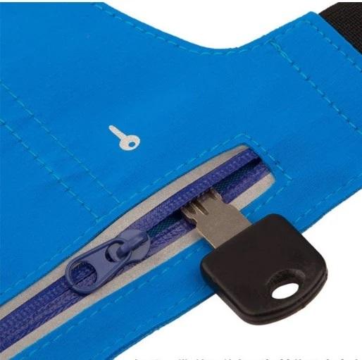 Спортивная сумка на пояс SW01 Accel Blue