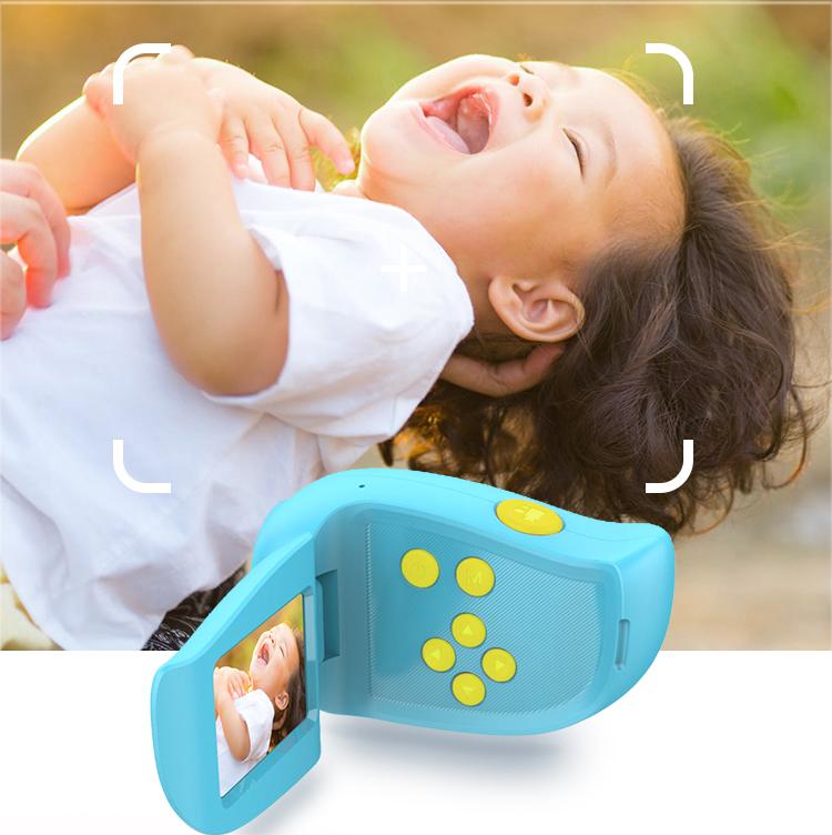Детская видеокамера Bordo HD, дисплей 2.0 F5 Blue