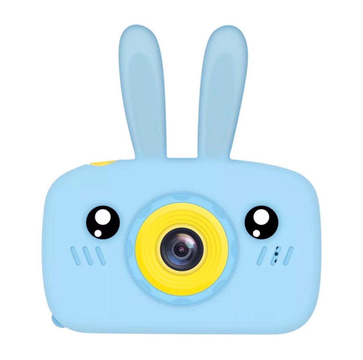 Детская Фото-видеокамера Bordo с ушками 1200P, дисплей 2.0 HD F4 Blue