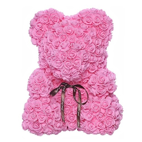 Мишка из роз UFT Bear Flowers UFT BB2 Pink