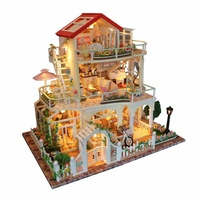 3D Интерьерный конструктор Large DIY Doll House MASSLINNA Be enduring as the universe