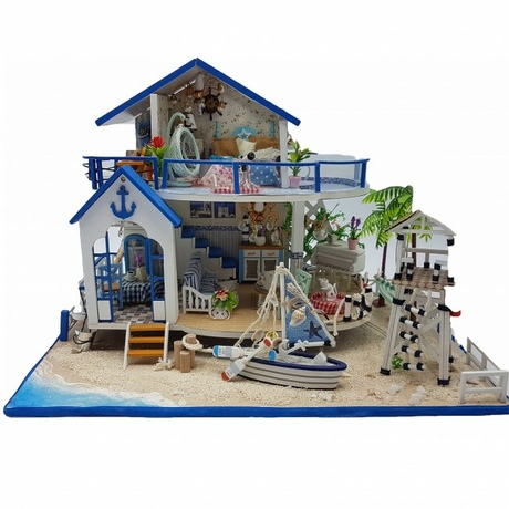 3D Интерьерный конструктор Midsize DIY Doll House UFT Legend Of The Blue Sea