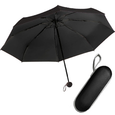 Карманный зонт в футляре капсула Umbrella Capsule UFT U1 Black